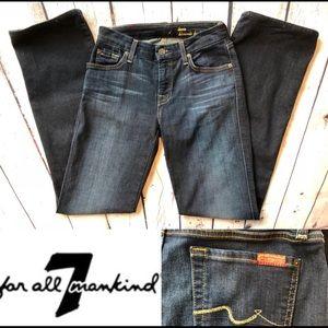 7FAMK Lexie Kimmie Boocut Jeans, 26